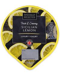 Thick & Creamy Sicilian Lemon Yogurt