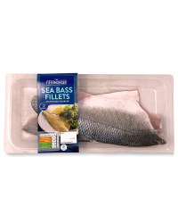 2 Sea Bass Fillets