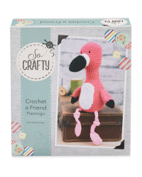 So Crafty Crochet A Friend Flamingo