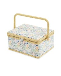 Ditsy Floral Rectangle Sewing Box