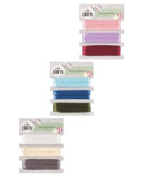 So Crafty Assorted Ribbon 3 Pack