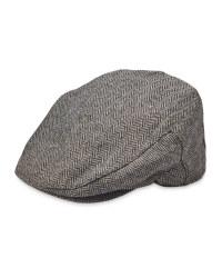 Herringbone Flat Cap