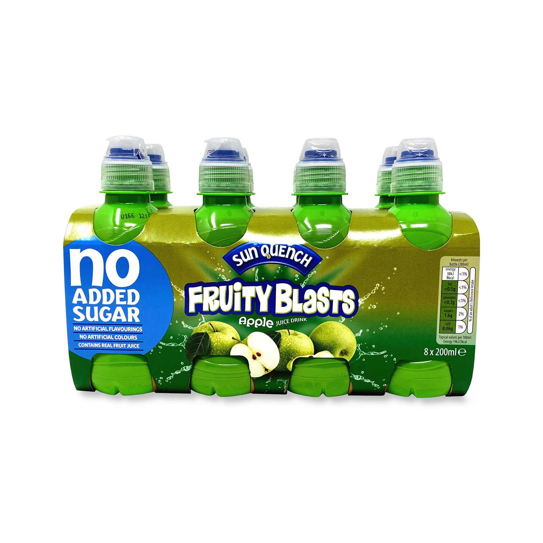 No Added Sugar Fruity Blasts