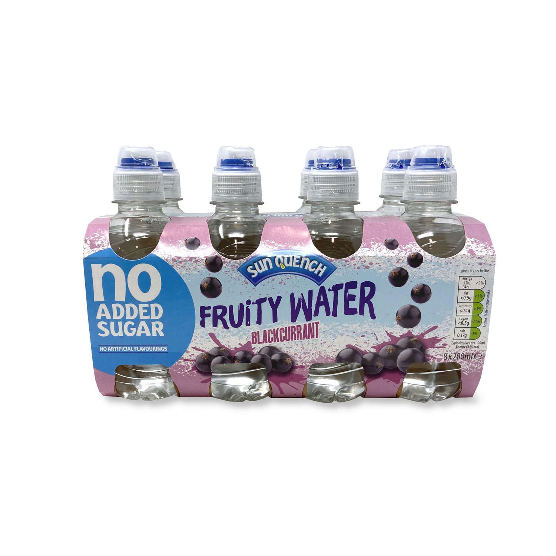 Fruit Water Blackcurrant