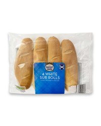 Brownings White Sub Rolls