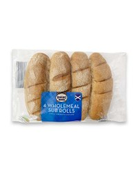 Brownings Wholemeal Sub Rolls