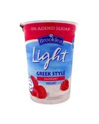 Raspberry Greek Style Yogurt