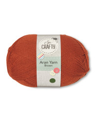 So Crafty Brown Aran Yarn