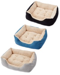 Large Plush Pet Bed