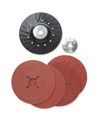 Fibre Disc With Plastic Holder