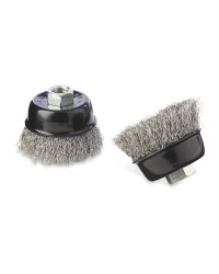2 Piece Corrugated Cup Brush