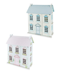 Little Town Wooden Doll's House