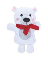 Little Town Polar Bear Hand Puppet
