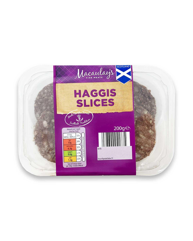 Macaulay's Haggis Slices