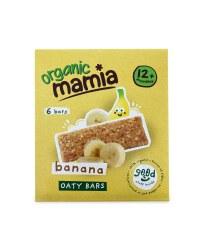 6 Banana Soft Oaty Bars