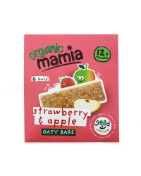 6 Strawberry & Apple Soft Oaty Bars