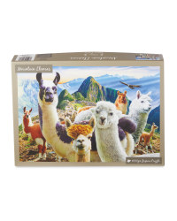 Mountain Llamas Jigsaw Puzzle