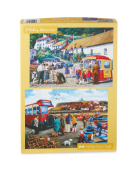 Holiday Memories Jigsaw Puzzle Set