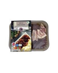 Inspired Cuisine Liver & Bacon
