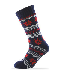Sherpa Fleece Slipper Socks