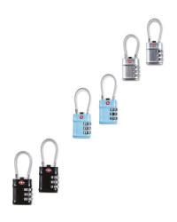 Digital Luggage TSA Lock 2 Pack
