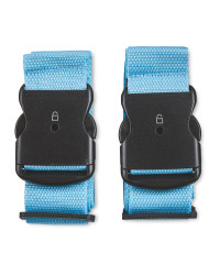 Avenue Luggage Strap 2 Pack - Blue