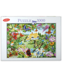 1,000pc Butterfly Garden  Puzzle
