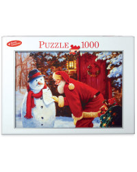 1,000pc Snowman's Request Puzzle