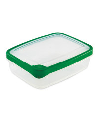 1.3L Rectangle Container - Green