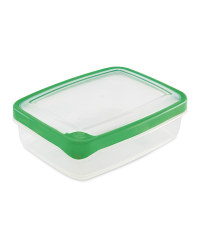 1.3L Rectangle Seal Tight Container - Green
