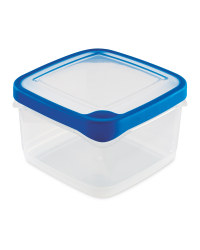 1.4L Square Container - Blue