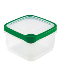 1.4L Square Container - Green