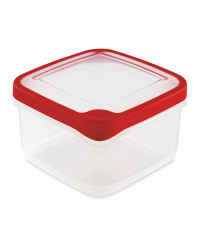 1.4L Square Container - Red