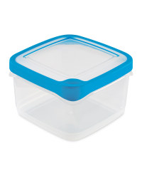 1.4L Square Seal Tight Containers - Blue