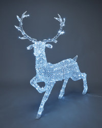 1.4m Jewelled Stag