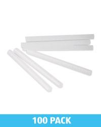 100 Pack Iridescent Glue Sticks