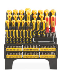 100-Piece Screwdriver & Bit Set