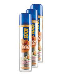 1001 Carpet Freshener 3 Pack
