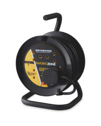 Black 10m A-Frame Cable Reel