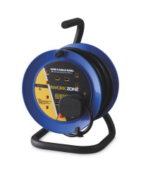 Blue 10m A-Frame Cable Reel