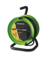 Green 10m A-Frame Cable Reel