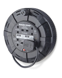 Workzone 10m Cable Reel - Black