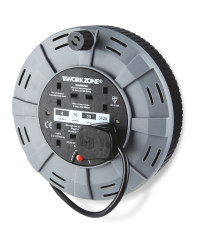 Workzone 10m Cable Reel - Grey