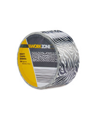 10m Supertough Zebra Duct Tape