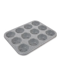 12 Cup Muffin Tray - Grey