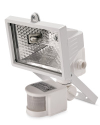 120W Halogen Floodlight - White