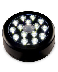 15 SMD LED Motion Light - Black