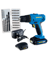 16V Lithium-Ion Cordless Drill