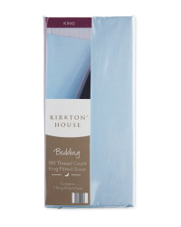 Kirkton House King Fitted Sheet - Dark Blue