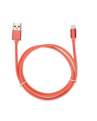 Boost 1m Coral Lightning Cable